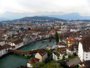 Швейцария. Биль. Старый город