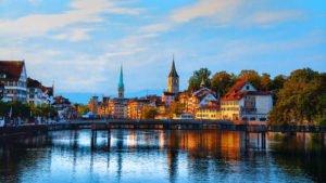 Осенний Цюрих