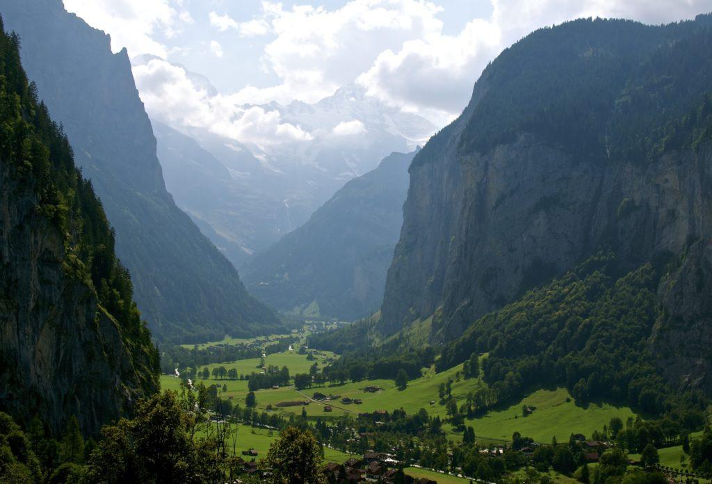 Даутербруннен. Туристическая долина в Швейцарии