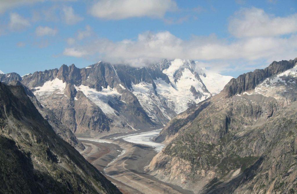 Ледник Унтерарглетчер. Фотография