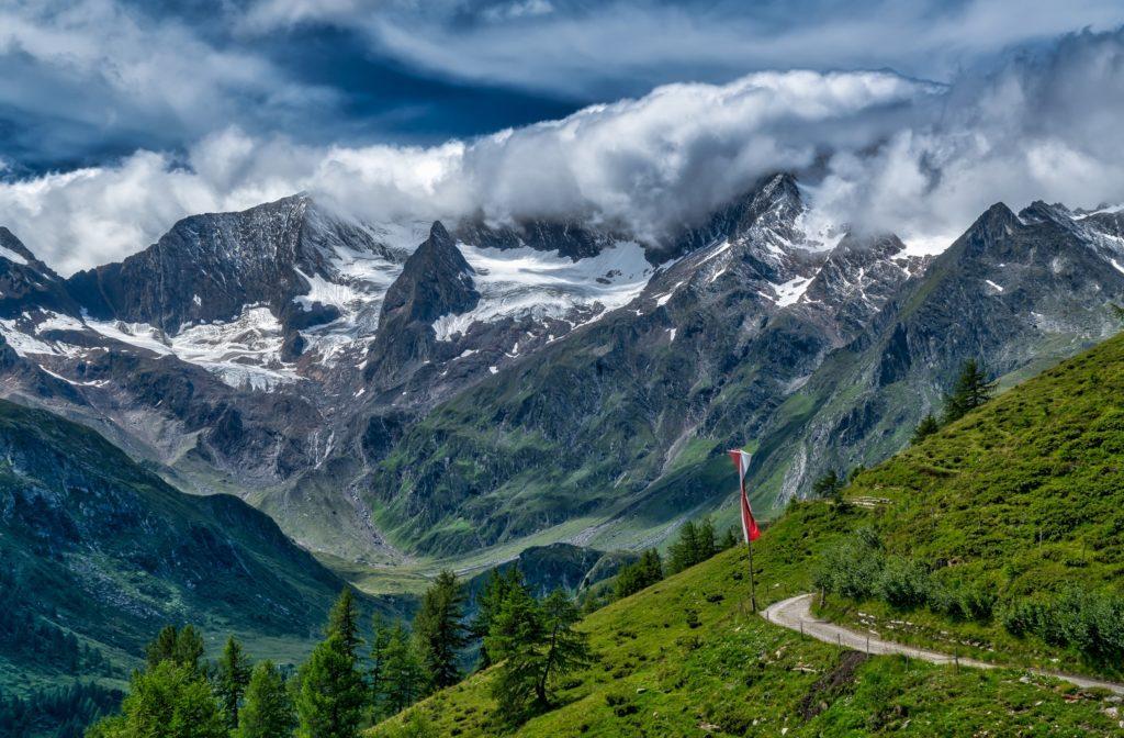 Альпы. Швейцария.