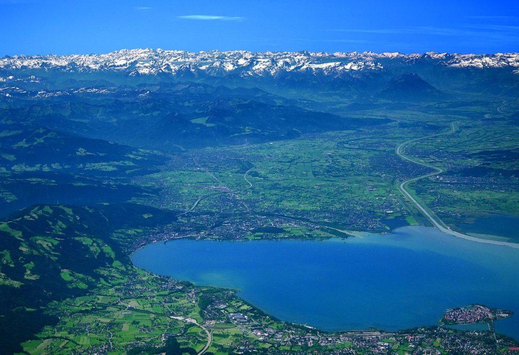 Боденское озеро в Швейцарии