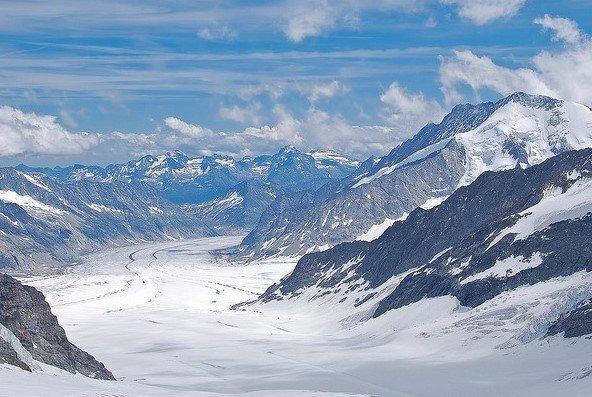 Ледники Швейцарии. Подборка