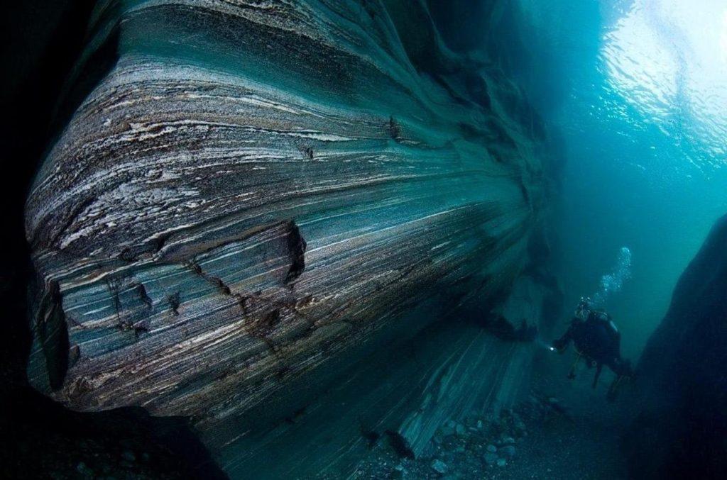 Река Вкрзаска. Подводное фото