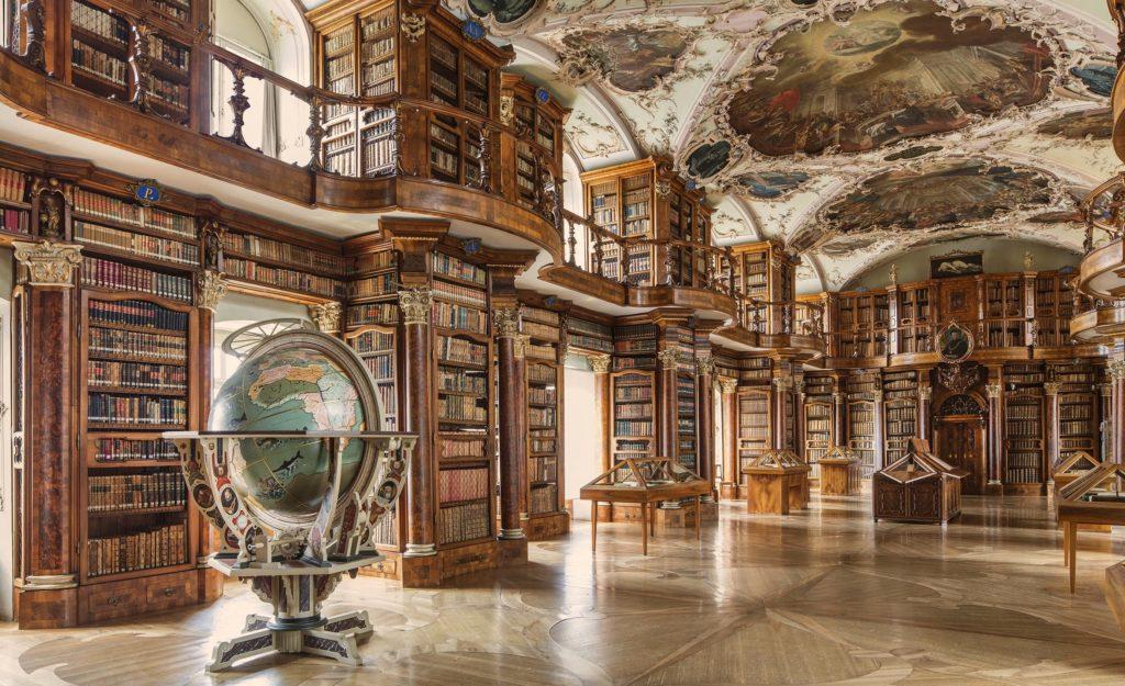 Санкт-Галлен Аббатство Библиотека