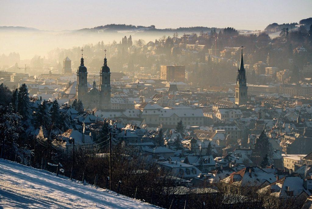 Щвейцария. Город Санкт-Галлен