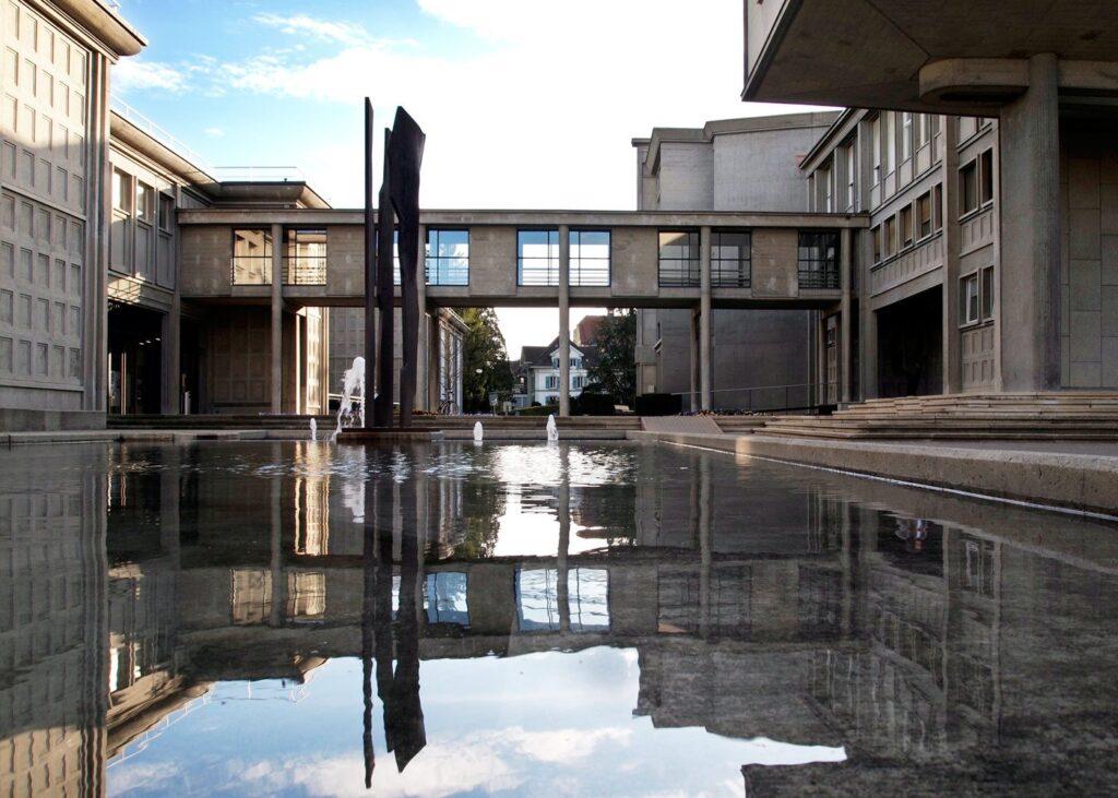 Швейцария. Университет Фрибура