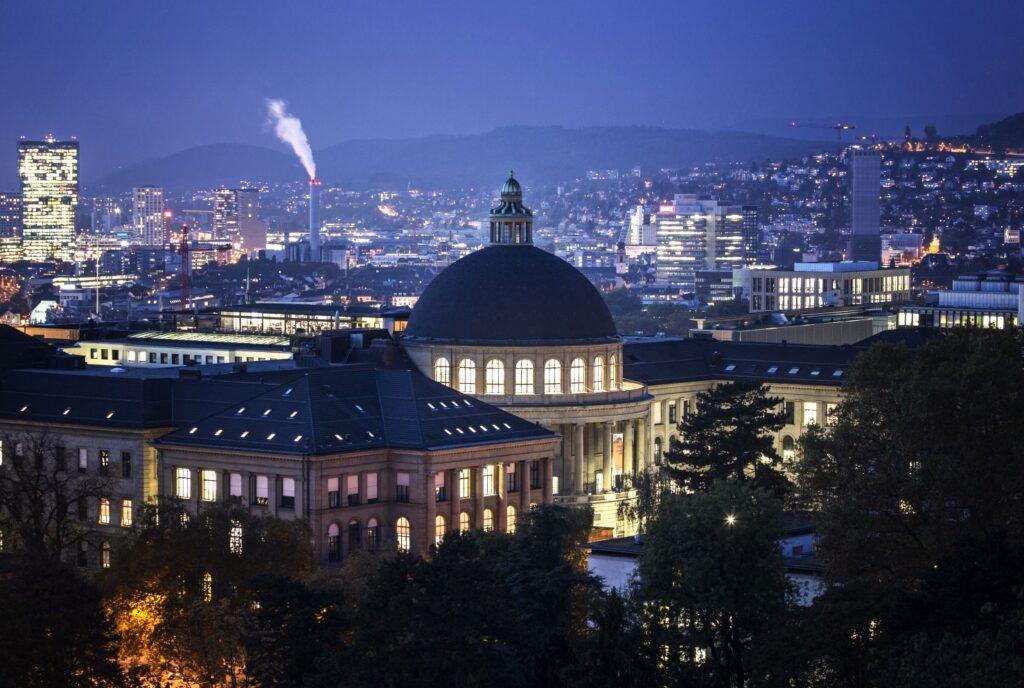 Цюрих.Швейцарская высшая Техническая школа Цюриха (ETHZ)
